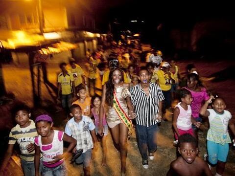 Ivonne Palencia llegó a su barrio en Cartagena, Colombia, como la Reina...