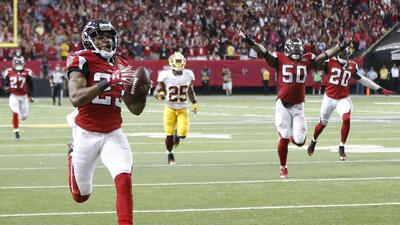 Highlights Temporada 2015 Semana 5: Atlanta Falcons 25-19 Washington Red...