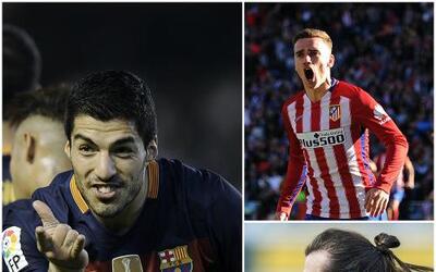Real Madrid, Barcelona y Atlético de Madrid ganaron sus partidos en la J...