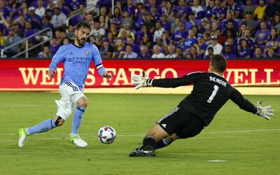 David Villa, Joe Bendik  NYCFC vs. Orlando City