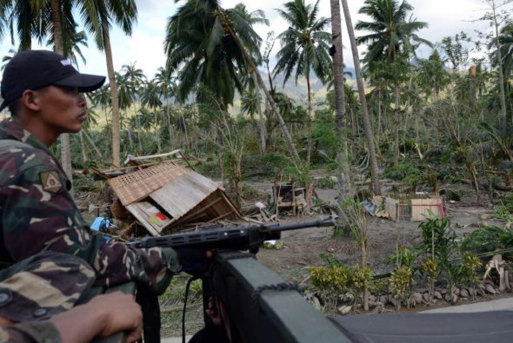 Para la llegada del tifón, el décimo sexto del año, el gobierno de Filip...