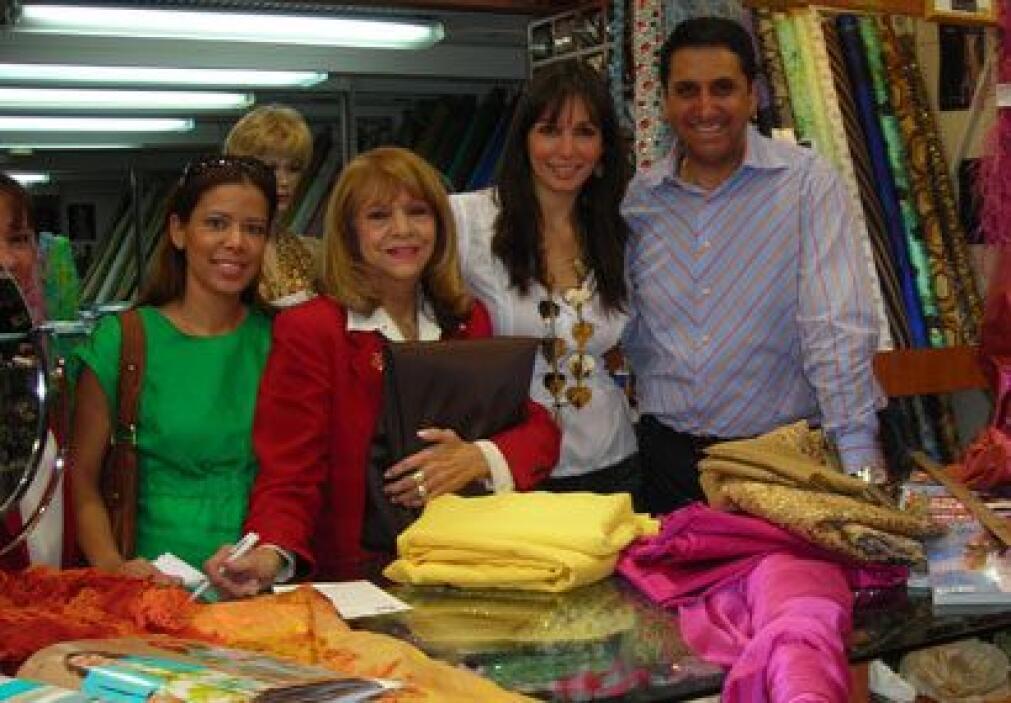 El dueño de la tienda, Ricardo Aldama le proporcionó una buena estancia...