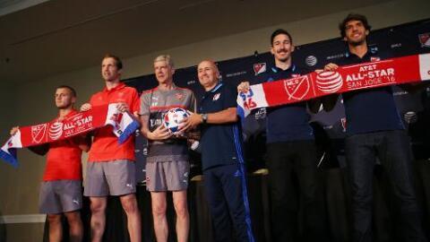 MLS All-Star Game: Conferencia entre jugadores y entrenadores