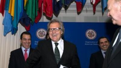 Luis Almagro, el día de su elección como secretario general de la OEA