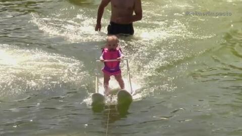 Bebé de 6 meses se ganó un lugar en el libro Record Guinness en Florida