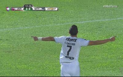 Fantástico gol de media vuelta por parte de Rogelio Funes Mori en el Ver...