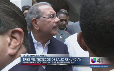 """Se sintió en Santiago la renuncia """"irresponsable"""" de más de 3,000 funcio..."""