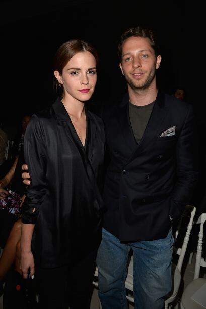 Emma Watson lució tan 'chic', que Derek Blasberg  no perdi&oacute...