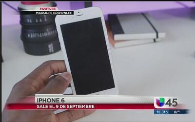 Ya el iPhone 6 tiene fecha