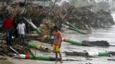 Irene golpeó, con categoría 2, a República Dominicana y a Haití.