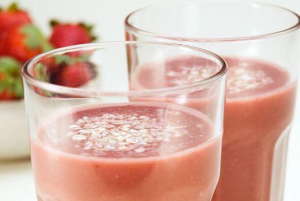 Frozen de frutillas  Este batido combina los nutrientes de las fre...