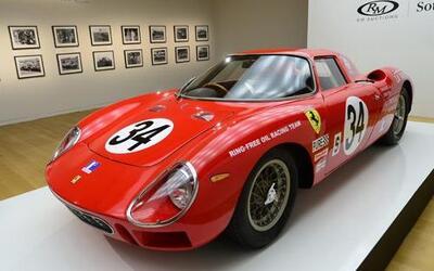 EsteFerrari 250 LM 1964 ganó su categoría en las 24 horas de Daytona de...