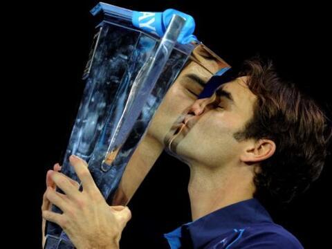 El suizo Roger Federer tuvo un año lleno de altibajos. No gan&oac...