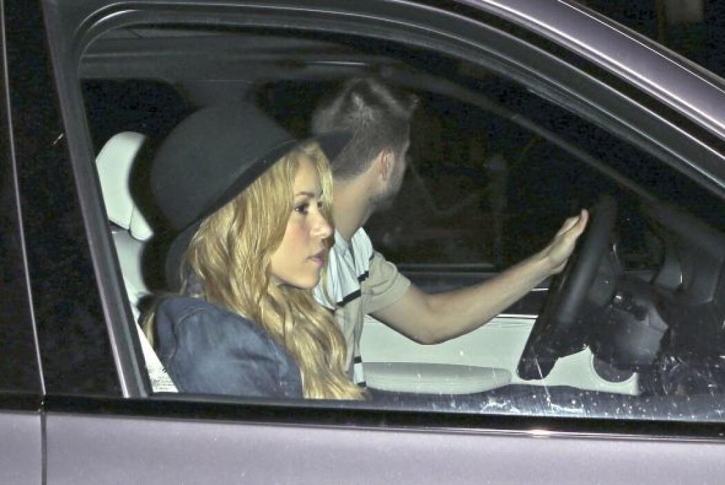 Shakira abrió un espacio en su agenda para ver a su novio, ya que la can...