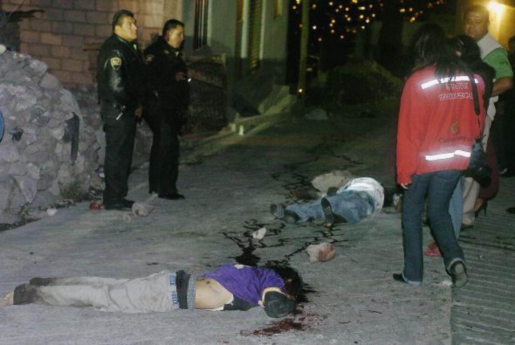 Las autoridades tanto, estatales como federales atribuyen la ola de viol...
