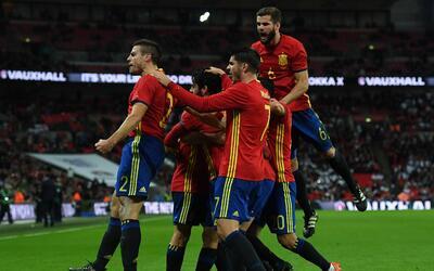 Inglaterra vs. España