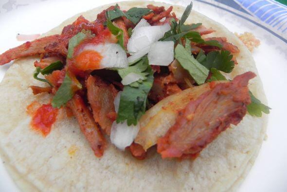 2. Tacos de carnitas