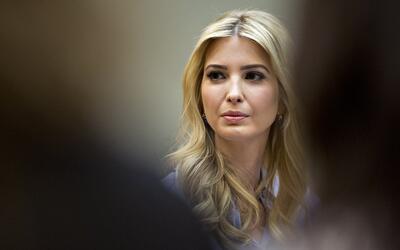 Ivanka Trump, hija del presidente Trump, y ahora con el cargo oficial de...