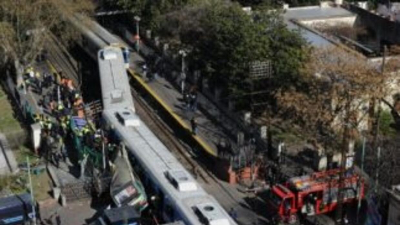 El mes pasado Argentina vivió otro accidente falta con el choque de un t...