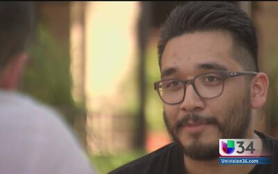 Erick, un joven mexicano de California