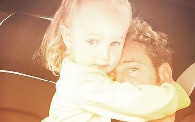 Gabriel Soto y su hija Alexa