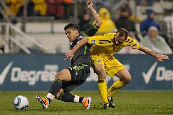 Seattle volvió a salir vivo de la casa del Crew con un empate a un gol.
