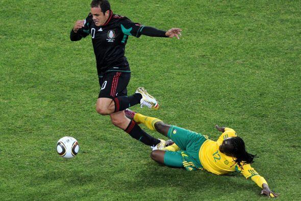 México arrancó el juego perdiendo con los anfitriones, per...