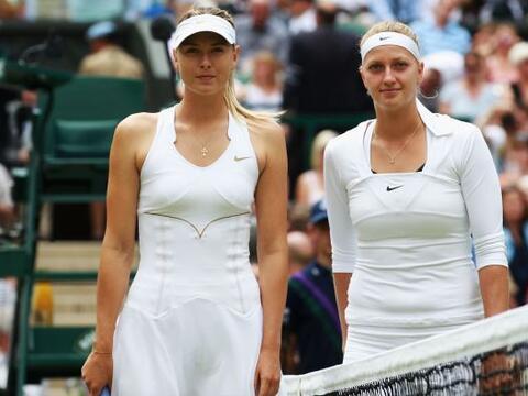 La final femenil de Wimbledon tenía como favorita a la rusa Maria...