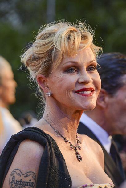 La actriz ha sufrido de tener piel muy delicada y poco firme por lo que...