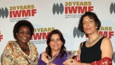 Vicky Ntetema, Claudia Julieta Duque y Alma Guillermoprieto fueron honra...
