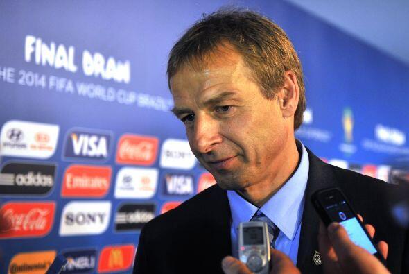 Jürgen Klinsmann es el DT de Estados Unidos, tiene 49 años (...
