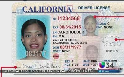 Lista de requisitos para licencias en California