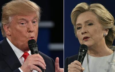 Hillary Clinton y Donald Trump apuestan su futuro en el último debate pr...