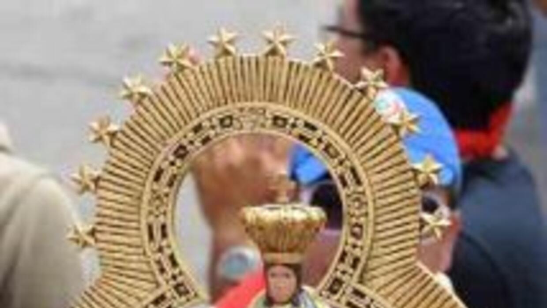 Los fieles católicos tienen una gran devoción a la Virgen María.