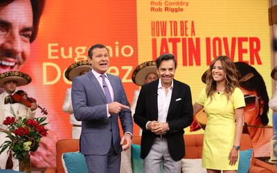 Eugenio Derbez presentó 'How to be a Latin Lover' en Despierta Am...