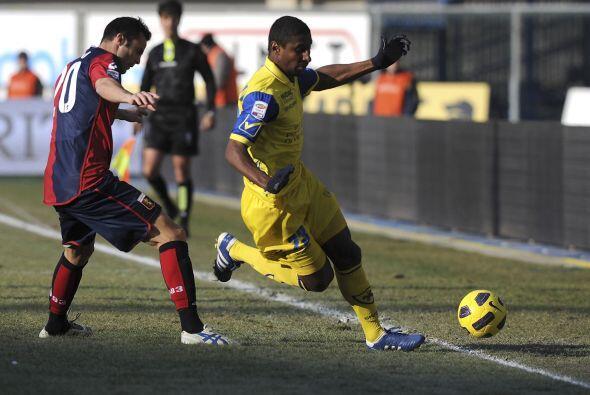 Finalmente, Chievo y Genoa protagonizaron el último duelo.