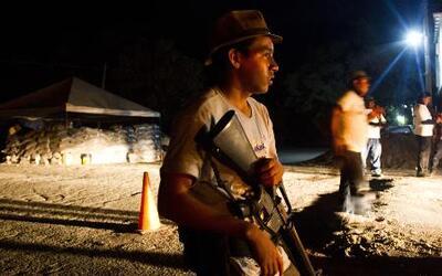 Autodefensas de Michoacán tomaron un pueblo