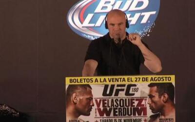 Dana White: 'Habrá dos eventos de UFC en México en el 2015'