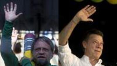 Santos y Mockus empatados a una semana de las elecciones colombianas c00...