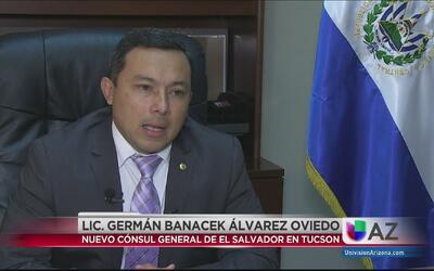Asume en Arizona en nuevo Cónsul General de El Salvador