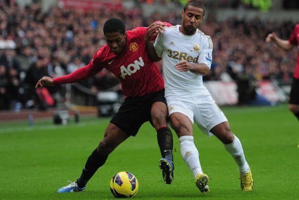 El partido entre el Swansea y el Manchester United era de los más espera...