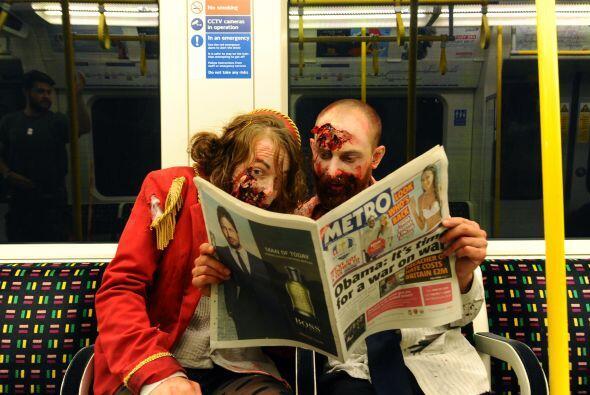Con la llegada de Halloween en diferentes partes del mundo los zombis se...