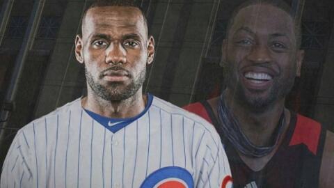 LeBron James y Dwayne Wade