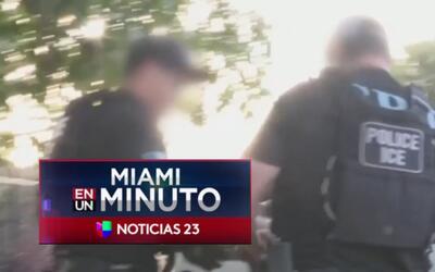 'Miami en un Minuto': más de setenta indocumentados con antecedentes cri...