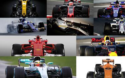 La Formula 1 tiene todos sus autos listos para comenzar la temporada 201...