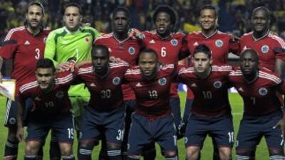 La selección de Colombia.