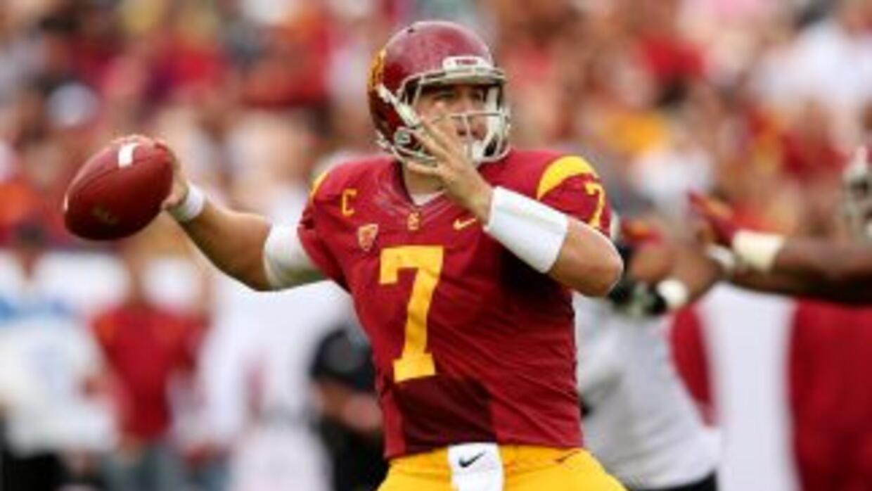 Matt Barkley es uno de los mejores quarterbacks para este Draft.
