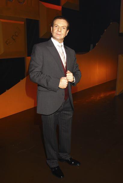 """Conoce a Alejandro Tommasi como """"Fausto Rangel""""."""