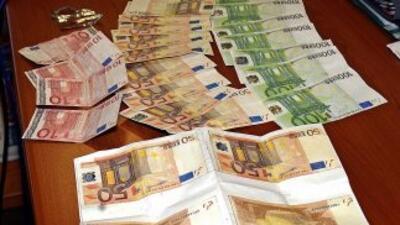 Euros. Papel moneda.