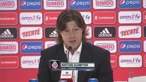 Matías Almeyda: 'El equipo dejó el alma en la cancha'